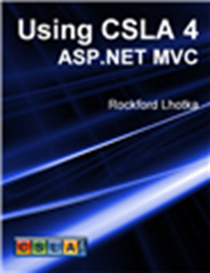 Picture of Using CSLA 4: ASP.NET MVC