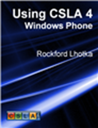Picture of Using CSLA 4: Windows Phone