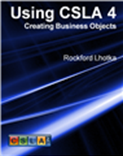 Picture of Using CSLA 4: Creating Business Objects