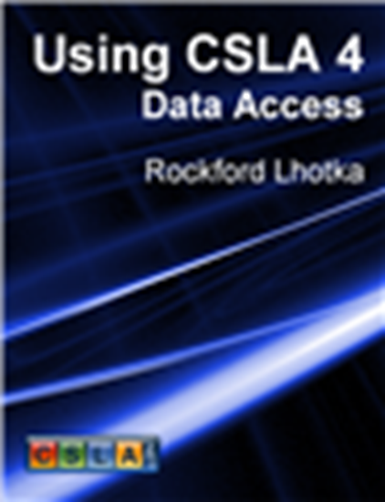 Picture of Using CSLA 4: Data Access