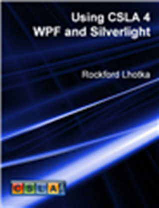 Picture of Using CSLA 4: WPF and Silverlight